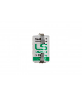 SAFT LS14250 / 1/2AA Lithium with u-tags - 3.6V