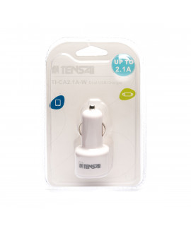 Tensai TI-CA2.1A-W USB Car Adapter