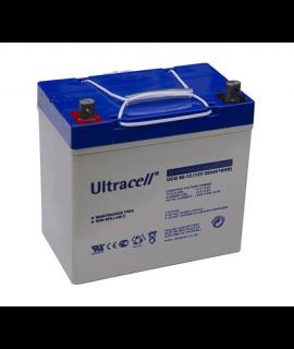 Ultracell Deep Cycle Gel 12V 55Ah Lead acid