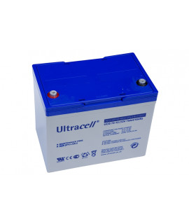 Ultracell Deep Cycle 12V 75Ah Lead battery