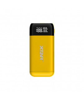 XTAR PB2S powerbank / battery charger - Yellow