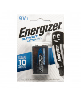 9V Energizer Lithium Battery - blister